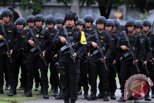 Dua SSK Brimob Bantu Pengamanan Pilkada Di Sulteng