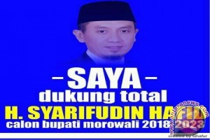 Demokrat Akan Usung Syarifudin Hafid Pilkada Morowali