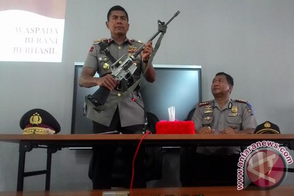 Senjata M-16 Milik Teroris Poso Ditemukan