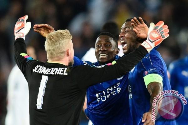 Liga Champions - Sikat Sevilla 2-0, Leicester lolos ke perempatfinal