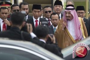 Rombongan Raja Salman tiba di Jakarta