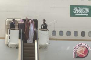 Raja Salman tinggalkan Bali