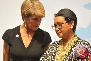 Menteri luar negeri Indonesia dan Australia bertemu