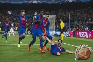 Barcelona hantam Villarreal 4-1 lewat gol trio MSN