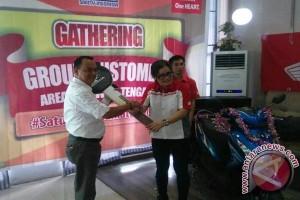 Silaturahim Honda dengan pelanggan setia di Luwuk