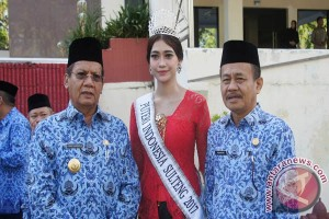 Gubernur Minta Puteri Indonesia Perkenalkan Khas Sulteng