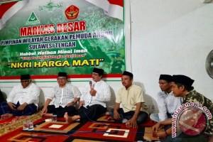 Warga NU Sulteng Doakan Almarhum Hasyim Muzadi Lewat Tahlil