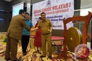 Gubernur Bahagia Bermitra Dengan Gereja Toraja Membangun Masyarakat