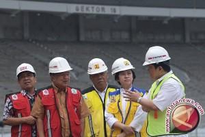 Wakil Presiden tinjau renovasi Gelora Bung Karno