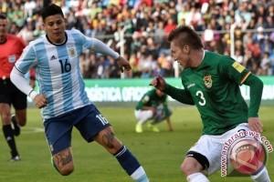 Tanpa Messi, Argentina tumbang 0-2 di tangan Bolivia