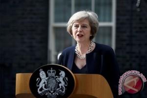 """Theresa May resmi ajukan """"surat cerai"""" Inggris dari Uni Eropa"""