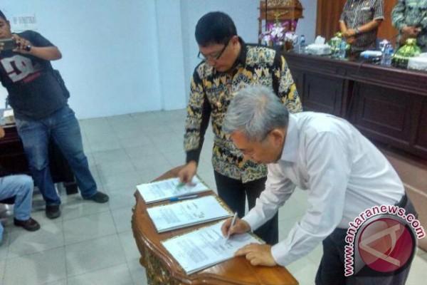 PT.Poso Energy dan Bupati Poso teken MoU Pengembangan Wisata Danau Poso