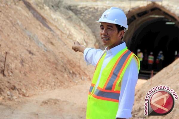 Presiden minta proyek infrastruktur kerja sama dipercepat
