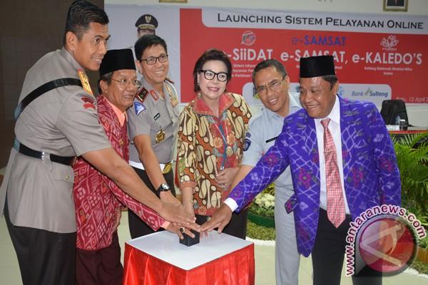 Gubernur Sulteng Luncurkan Tiga Layanan Online
