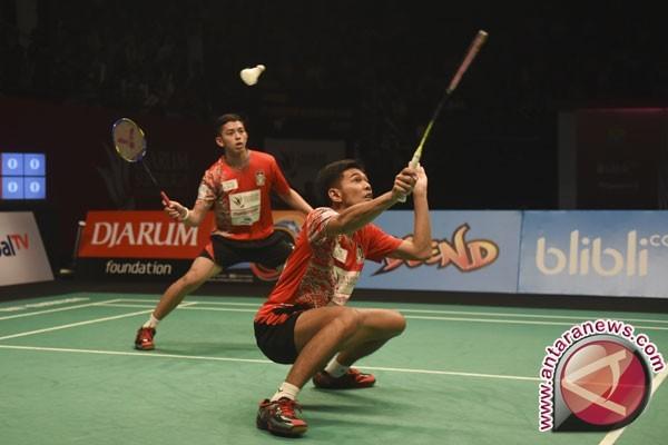 Ahsan/Rian-Angga/Ricky melaju ke putaran dua kejuaraan Asia