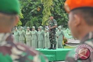 Istimewa!! 153 Prajurit TNI Satgas Tinombala Naik Pangkat