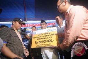 Jasindo Serahkan Rp.960 Juta Santunan Nelayan 2017
