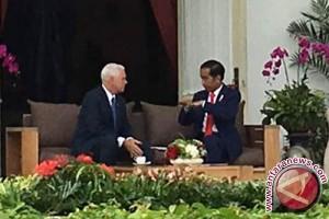 "Presiden Jokowi ajak Wapres AS ""veranda talks"""