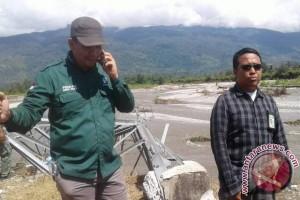 PLN Mulai Pasang 'Tower Emergency' di Poso