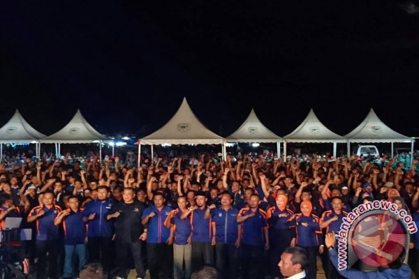 Bupati Touna Resmi Jabat Ketua DPD Nasdem