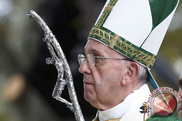 Paus akan terus terang kepada Trump saat bertemu di Vatikan nanti