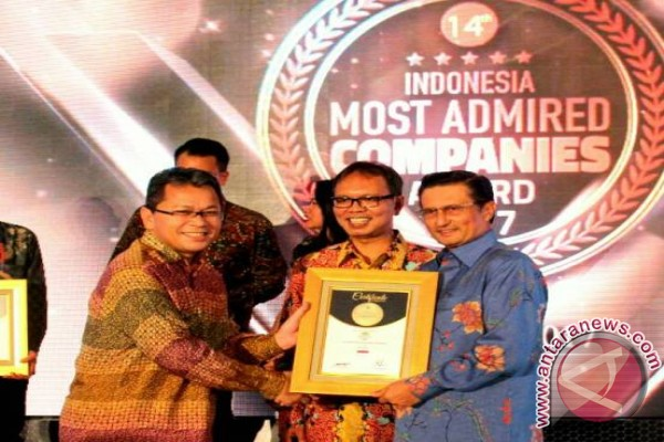 Astra Agro Kembali Raih Indonesia Most Admired Companies 2017