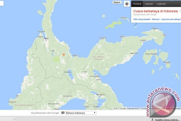 Gempa 6,6 SR Guncang Sulteng