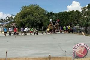 Korem Buka Lapangan Faqih Rasyid Untuk Masyarakat Kota Palu.