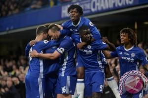 Hujan gol, Chelsea tundukkan Watford 4-3