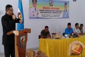 Bupati Poso dan KNPI Dialog Masalah Transportasi