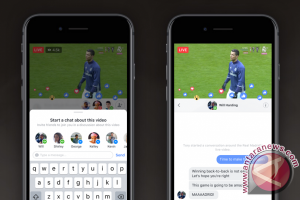 Facebook Live akan tambah fitur chat