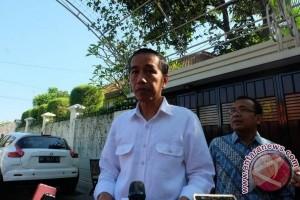 Presiden Jokowi jenguk Mang Ihin di Bandung