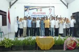 Camat Lantik Tujuh Puluh Pengurus Karang Taruna Singgani
