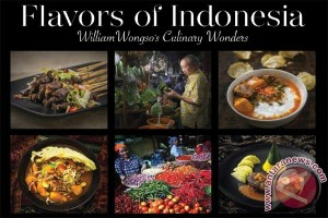 Buku kuliner William Wongso raih penghargaan di China