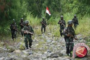 Ratusan prajurit TNI di Poso latihan tempur