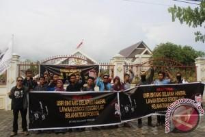 Jatam Sulteng Peringati Hari Anti-tambang Nasional