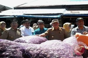 TPID Dan Satgas Pangan Sidak Pasar Masomba
