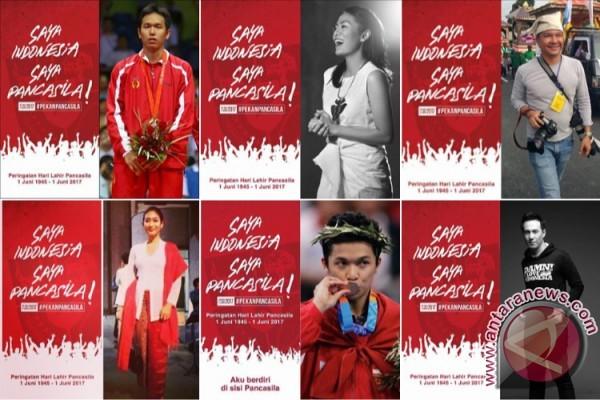 Peringati Hari Lahir Pancasila, netizen unggah foto