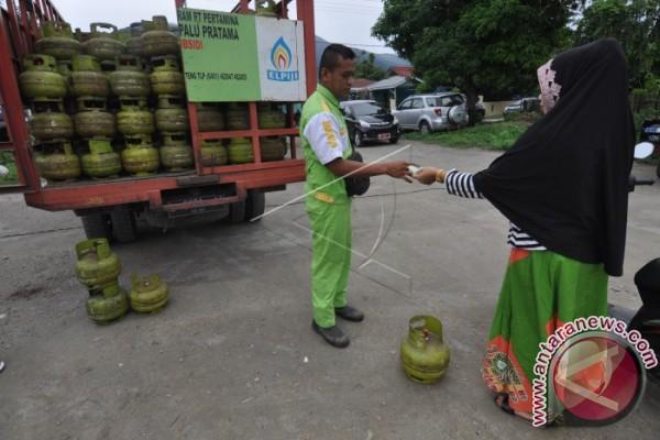 Pemkot Palu Sanksi Pengecer Jual Gas Bersubsidi