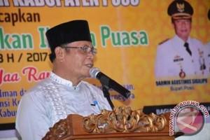 Wabub Poso lepas tim Safari Ramadhan 2017