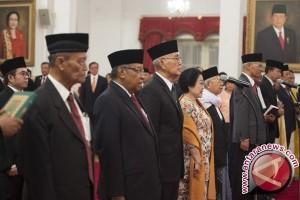 Presiden lantik pejabat UKP Pembinaan Ideologi Pancasila