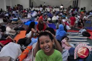 Sebanyak 914 Jiwa Warga Tolitoli Kembali Mengungsi