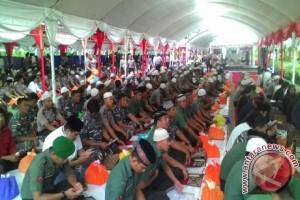 Ribuan Orang Hadiri Buka Puasa Polda Sulteng