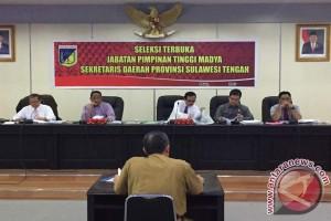 Tiga Pejabat Ikuti Uji Publik Calon Sekprov Sulteng