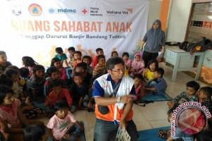 Anak koban banjir Tolitoli dapat pendampingan  belajar