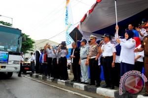 Ratusan warga manfaatkan mudik gratis Dishub Sulteng