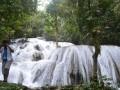 Air terjun Saluopa di Desa Wera Leboni, Kabupatrn Poso merupakan salah satu obJek wisata andalan Warga Poso dan sekitarnya. Bahkan, tempat ini sering dikunjungi Wisatawan baik macanegara maupun lokal. (Foto: Antarasulteng/Moh. Ridwan)