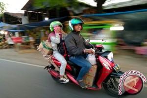 Cerita mudik dan balik dengan sepeda motor