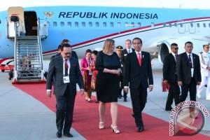 Presiden Jokowi tiba di Hamburg Jerman