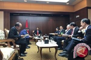 Jokowi bertemu tiga CEO perusahaan strategis Turki